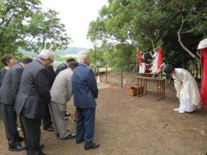松浦ライオンズクラブ記念植樹祭