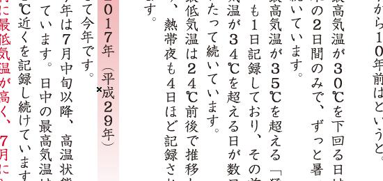 淀姫通信第151号 内容:「過去の夏との比較」