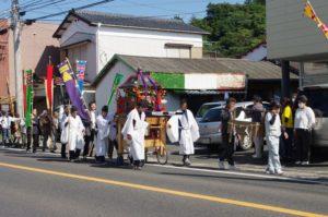 平成29年淀姫神社例大祭 御神幸式出発