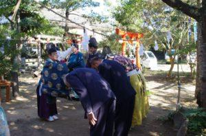 平成29年淀姫神社例大祭 祓戸での修祓