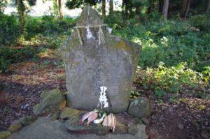山祇神社境内の庚申塚