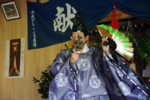 平成31年山祗神社秋祭り 平戸神楽「荒塩」の舞い