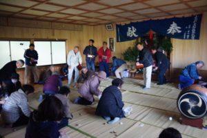 平成31年山祗神社秋祭り 餅撒きは賑やかです